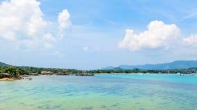 Playa y mar en la isla de Koh Samui Fotografía de archivo libre de regalías