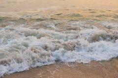 Playa y mar en paisaje Foto de archivo libre de regalías