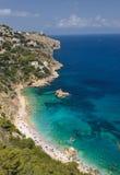 Playa y mar pintorescos Fotografía de archivo libre de regalías