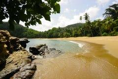 Playa y rocas Fotografía de archivo libre de regalías