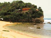 playa Yogyakarta del indrayanti Fotos de archivo libres de regalías