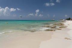 playa yucatan του Μεξικού παραλιών carmem d Στοκ Εικόνες
