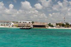 playa yucatan του Μεξικού παραλιών carmem d Στοκ φωτογραφίες με δικαίωμα ελεύθερης χρήσης