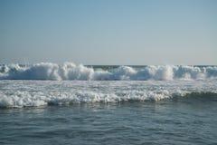 Playa Zipolite,海滩在墨西哥 库存图片