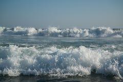 Playa Zipolite, παραλία στο Μεξικό στοκ εικόνες
