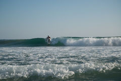 Playa Zipolite, παραλία στο Μεξικό στοκ φωτογραφίες
