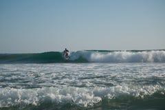 Playa Zipolite, spiaggia nel Messico Fotografie Stock
