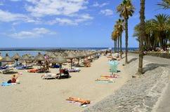Playade Las Amerika strand Stock Afbeelding