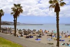 Playade Las Amerika strand Royalty-vrije Stock Afbeeldingen