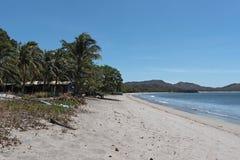 Playas在太平洋海岸的del Coco,哥斯达黎加 免版税库存照片