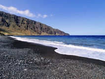 Playas, νησί Hierro Στοκ Εικόνες