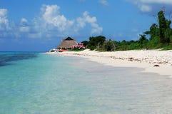 Playas de Cozumel Imágenes de archivo libres de regalías