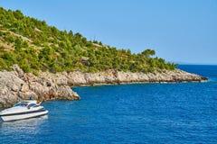 Playas de Hvar, Croacia fotos de archivo