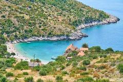 Playas de Hvar, Croacia foto de archivo