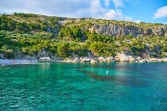Playas de Hvar, Croacia imagen de archivo libre de regalías