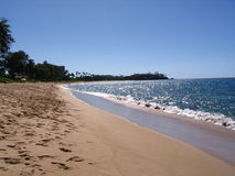 Playas de Kaanapali Imagenes de archivo