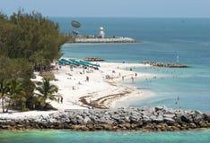 Playas de Key West foto de archivo libre de regalías