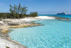 Playas de la isla caribeña Imágenes de archivo libres de regalías