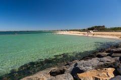 Playas de Melbourne Fotos de archivo libres de regalías