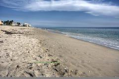 Playas de relajación de la Florida Fotografía de archivo