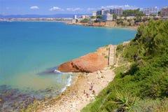 Playas de Salou, España imágenes de archivo libres de regalías