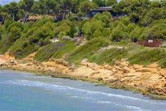 Playas de Salou, España fotos de archivo