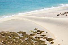 Playas de Sotavento, Fuerteventura Στοκ φωτογραφίες με δικαίωμα ελεύθερης χρήσης