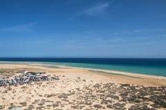 Playas de Sotavento, Fuerteventura Στοκ εικόνα με δικαίωμα ελεύθερης χρήσης