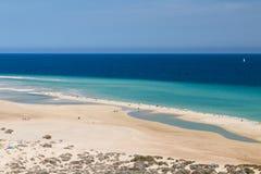 Playas de Sotavento, Fuerteventura Στοκ Φωτογραφία
