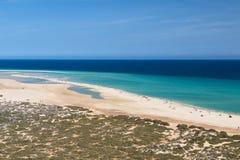Playas de Sotavento, Fuerteventura Στοκ εικόνες με δικαίωμα ελεύθερης χρήσης
