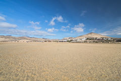 Playas de Sotavento, Fuerteventura Royalty Free Stock Photography