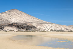 Playas de Sotavento, Fuerteventura Stock Photography