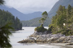 Playas de Tofino Imagen de archivo libre de regalías