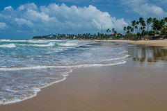 Playas del Brasil - Oporto de Galinhas Foto de archivo libre de regalías
