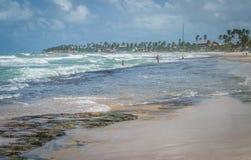 Playas del Brasil - Oporto de Galinhas Fotografía de archivo libre de regalías