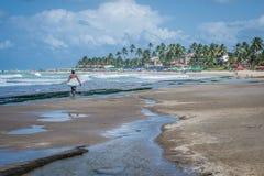 Playas del Brasil - Oporto de Galinhas Fotos de archivo