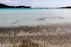 Playas en Córcega Imagen de archivo libre de regalías