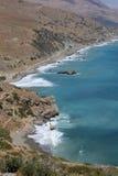 Playas en Creta foto de archivo