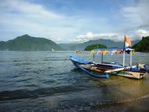 Playas hermosas del putih de Pasir Fotos de archivo libres de regalías