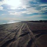 Playas salvajes Imagen de archivo libre de regalías