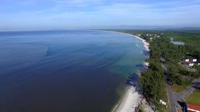 Playas y lugares paradisíacos, playas maravillosas en todo el mundo, Restinga de la playa de Marambaia, Rio de Janeiro, el Brasil