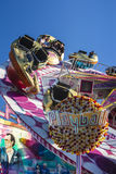 Playball carousel at Oktoberfest in Munich, Germany, 2015 Royalty Free Stock Photo