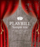 playbill Image stock