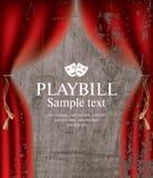 Playbill Stock Image