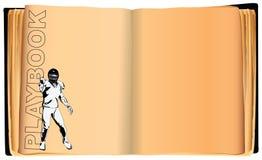 Playbook American Football Stock Image