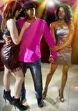 Playboy på nattklubben arkivfoto