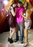 Playboy på nattklubben arkivbilder