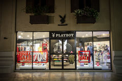 Playboy shop in Premium Outlet Chiangmai. CHIANG MAI, THAILAND -APRIL 28 2017: Playboy shop in Premium Outlet Chiangmai. Approximately half an hour 11 kms from Stock Image