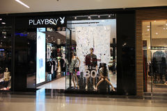 Playboy store Inside of Central Festival Royalty Free Stock Image