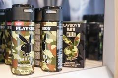 Playboydesodorierendes mittel Lizenzfreies Stockfoto